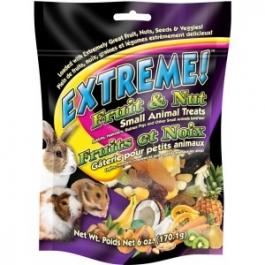 F.M. Brown's Extreme! Fruit & Nut Small Animal Treats - 6oz Bag