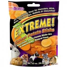 F.M. Brown's Extreme! Natural Sweet Potato Sticks - 3.5oz Bag