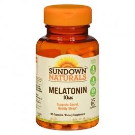 Sundown Naturals Melatonin 10mg Capsules, 90ct