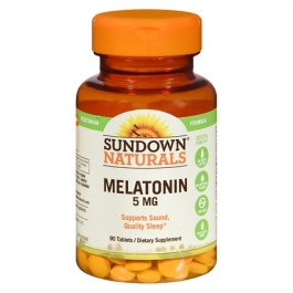 Sundown Melatonin 5 mg Tablets 90ct