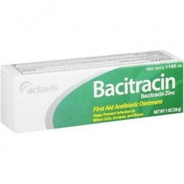 Actavis Bacitracin First Aid Antibiotic Ointment, 1oz