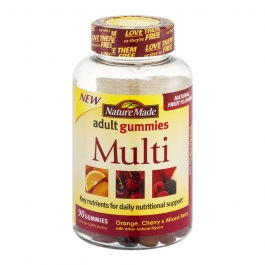 Nature Made Multi Adult Gummies, 90ct