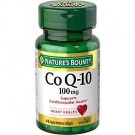 Nature's Bounty Q-Sorb Co Q-10 100mg Softgels 45ct