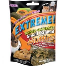 F.M. Brown's Extreme! Baked Gourmet Muffins for Small Animals - 3.5oz Bag