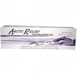 Arctic Relief External Gel, Natural Menthol 4 Oz
