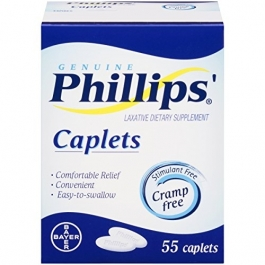 Phillips Cramp-free Laxative Caplets - 55ct
