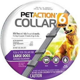 PetAction Six Month Collar- Large Dog- 1ct
