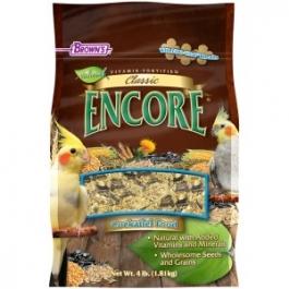 F.M. Brown's Encore Classic Natural Cockatiel Food - 4lb Bag