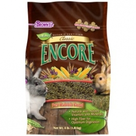 F.M. Brown's Classic Natural Pet Rabbit Food - 4lb Bag
