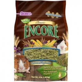 F.M. Brown's Encore Classic Natural Guinea Pig Food - 4lb Bag