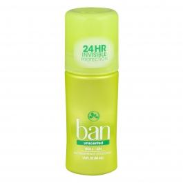 Ban Anti-Perspirant/Deodorant Original Roll-On Unscented 1.5 oz