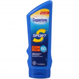 Coppertone Sport Sunscreen Lotion, SPF 50, 7 fl oz