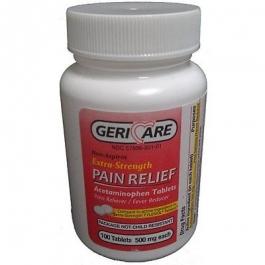 Geri-Care Extra Strength Acetaminophen - 100 Caplets