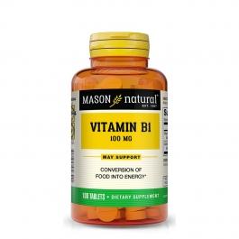 Mason Naturals Vitamin B-1 100 Mg Tablets - 100ct