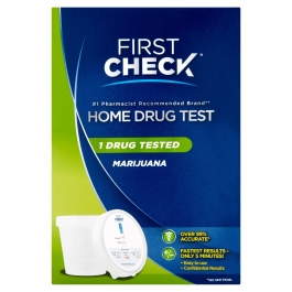 First Check Home Drug Cup Test, Marijuana, 1 Test