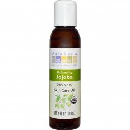 Aura Cacia Jojoba Balancing Oil 4 oz