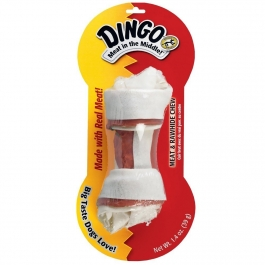 Dingo Rawhide Dog Bone, Small - 1ct