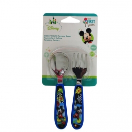 The First Years Disney Mickey Mouse Easy Grasp Flatware