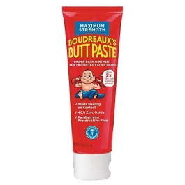 Boudreaux's Paste Maximum Strength Diaper Rash Ointment - 4 oz