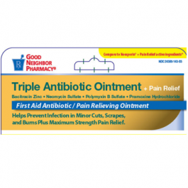 GNP Triple Antibiotic Ointment + Pain Relief 1 oz