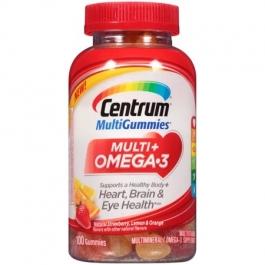 Centrum Multi + Omega-3 Gummies - 100ct