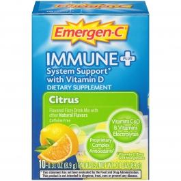 Emergen-C - Immune Plus Citrus Flavored Fizzy Drink Mix 10ct