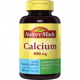 Nature Made Calcium with Vitamin D Liquid Softgels 100ct