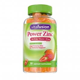 Vitafusion Power Zinc Gummy Vitamins, 90ct
