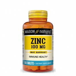 Mason Natural Zinc 100mg Tablets 100ct