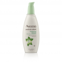 Aveeno Positively Radiant Cleanser 6.7oz