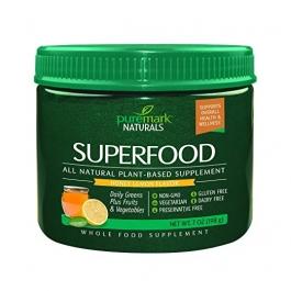 Puremark Superfood Powder, Honey Lemon, 7 Ounce
