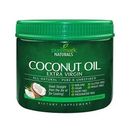 Puremark Extra Virgin Coconut Oil, 16 Fluid Ounce