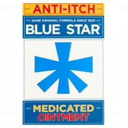 Blue Star Anti-Itch Ointment  2 oz.