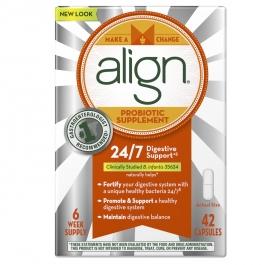 Align Daily Probiotic Supplement Capsules - 42ct