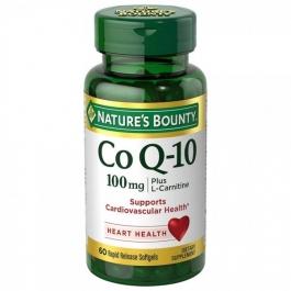 Nature's Bounty CoQ-10 Plus 100mg Softgels 60ct