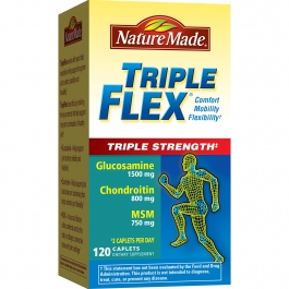 Nature Made Triple Flex Triple Strength 120 Caplets