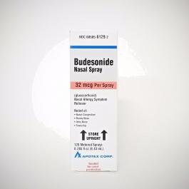 Apotex Budesonide 32mcg Nasal Spray - 120 Sprays 8.43ml