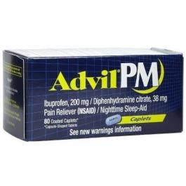 Advil PM Caplet 80ct