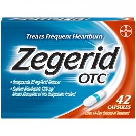 Zegerid OTC Capsule 42ct