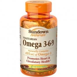 Sundown Naturals Vegetarian Omega 3 6 9 Dietary Supplement