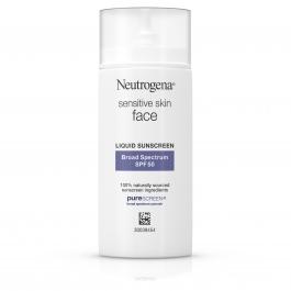 Neutrogena Pure & Free Liquid Sunscreen SPF 50, 1.4 Fl Oz