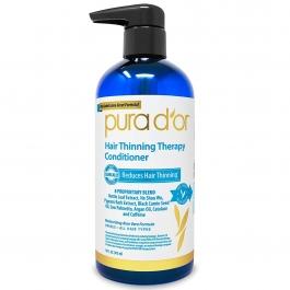 Pura D'or Hair Loss Prevention Therapy Conditioner, 16 Fl Oz