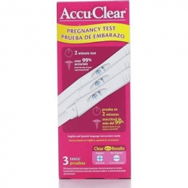 Accu-Clear Early Pregnancy Test 3ct
