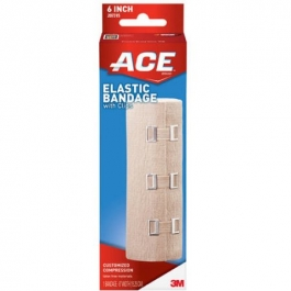 """Ace Elastic Bandage with Clips 6"""" - 1ct"""