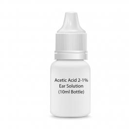 Acetic Acid 2-1% Ear Solution (10ml Bottle)