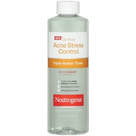 Neutrogena Acne Stress Control Triple Action Toner 8 oz