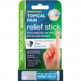 Advocate Aftertest Topical Pain Relief Stick- 0.135oz