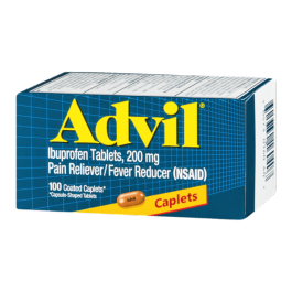 Advil Caplet 100ct