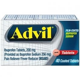 Advil Film-Coated Ibuprofen Sodium Tablets - 40ct
