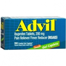 Advil Gel Caplets - 100ct